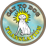 CAT TO DOG TRANSLATION LOGO